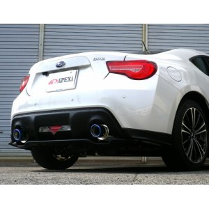 A'PEX-i N1-X Evolution Extreme Cat-Back Exhaust - 2013+ Subaru BRZ/Scion FR-S/Toyota GT86 164-T001J