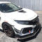 APR Performance Carbon Fiber Front Bumper Canards - 2017+ Honda Civic Type R (FK8)