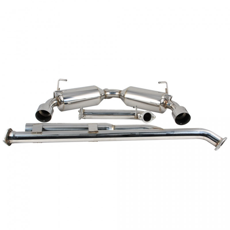 DC Sports Dual Stainless Steel Cat-Back Exhaust - 2013+ Subaru BRZ/Scion FR-S/Toyota GT86