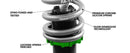 Fortune Auto 500 Series Coilovers - 2013+ Subaru BRZ/Scion FR-S/Toyota GT86