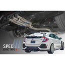 Remark Spec III Non-Resonated Cat-Back Exhaust (Stainless Steel Tip Cover) - 2017+ Honda Civic Type R (FK8)