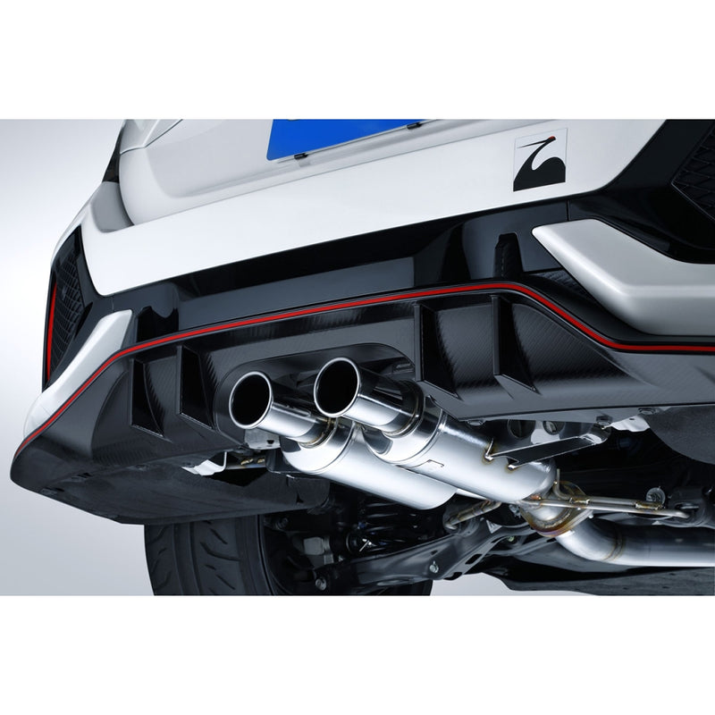 Spoon Sports N1 Muffler Kit - 2017+ Honda Civic Type R (FK8)