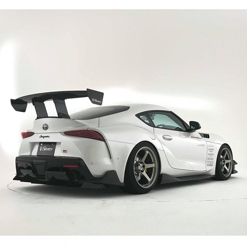 Varis Arising I Carbon Fiber Side Under Skirt - 2020+ Toyota Supra (A90)