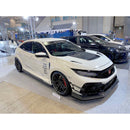 Varis Arising-II Side Skirt Set w/ Underboard (FRP/Carbon) - 2017+ Honda Civic Type R (FK8)