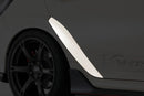 Varis Rear Door Trim (FRP) - 2017+ Honda Civic Type R (FK8)