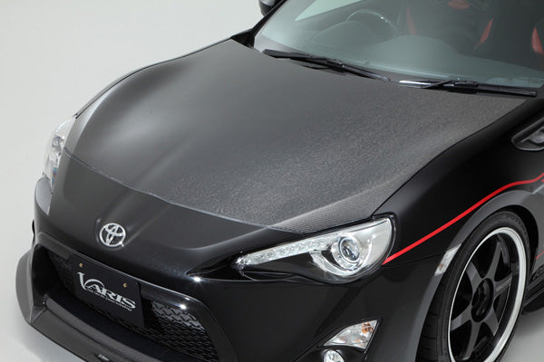Varis Arising-I Lightweight Cooling Hood (Carbon) - 2013+ Subaru BRZ/Scion FR-S/Toyota GT86