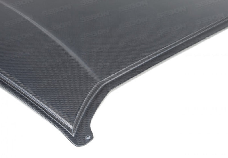 Seibon Dry Carbon Roof Replacement - 2013+ Subaru BRZ/Scion FR-S/Toyota GT86