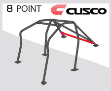 Cusco Safety 21 Roll Cage (8-Point, 2-Pass) [Around Dash-Type] - 2017+ Honda Civic Type R (FK8)