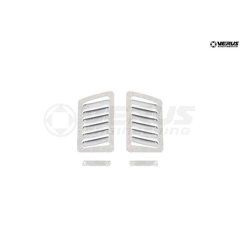 A0055A Verus Engineering Hood Louver Kit (Small Vents) - 2013+ Subaru BRZ/Scion FR-S/Toyota GT86