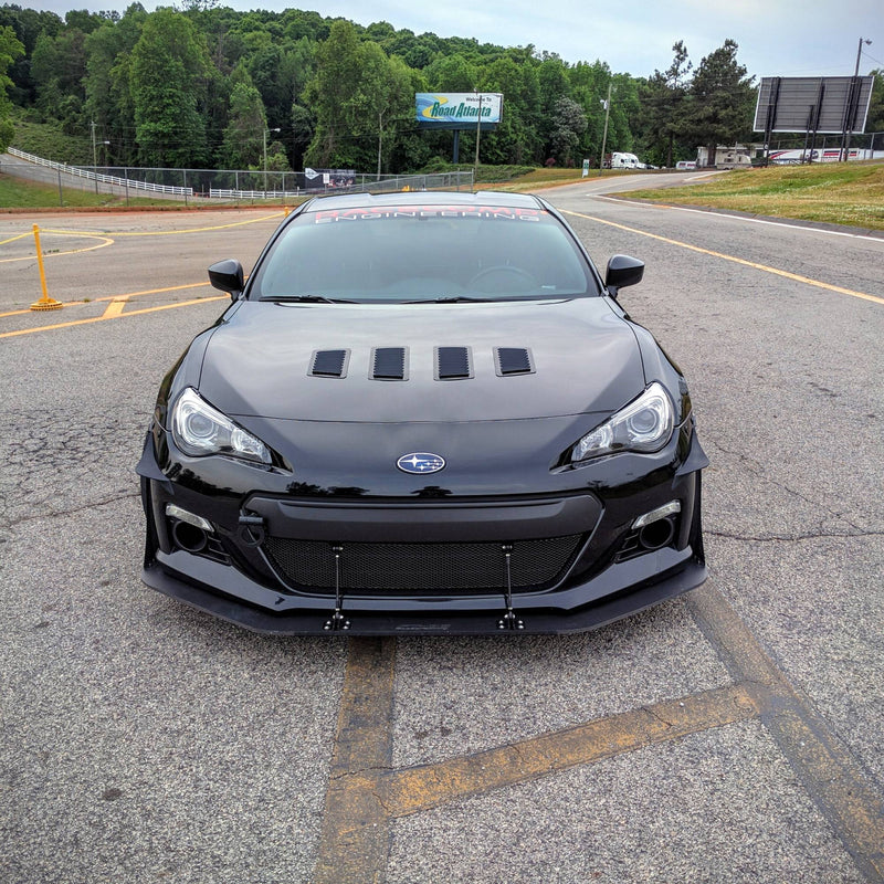 Verus Engineering Front Splitter Endplates - 2013+ Subaru BRZ/Scion FR-S/Toyota GT86 A0040A