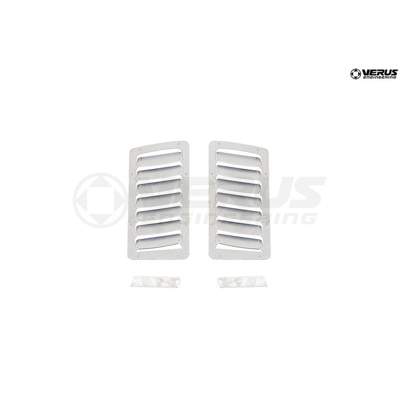 A0056A Verus Engineering Hood Louver Kit (Large Vents) - 2013+ Subaru BRZ/Scion FR-S/Toyota GT86