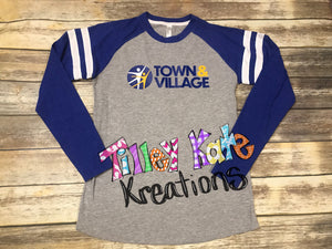Long sleeve Jersey raglan