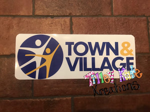 Car Magnet Town and Village