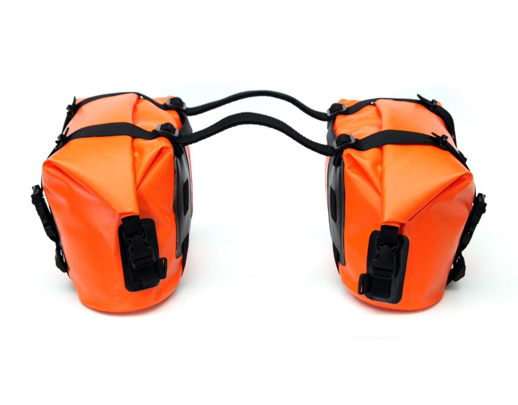 D20 Dry Bag Saddlebag Set