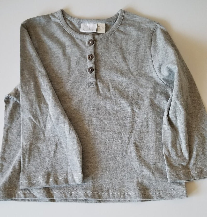 Grey Cotton Tee