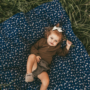 Olive chambray bloomer