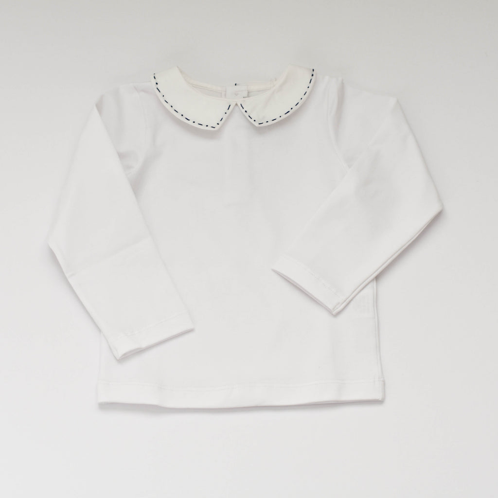 Stitched Collar Tee