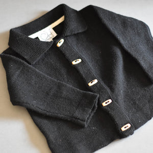 Midnight Wool Cardigan