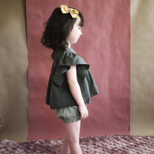 Lennon Blouse- Storm Green