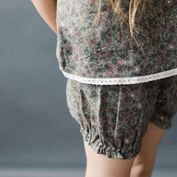 Margot Bloomers- Grey Floral