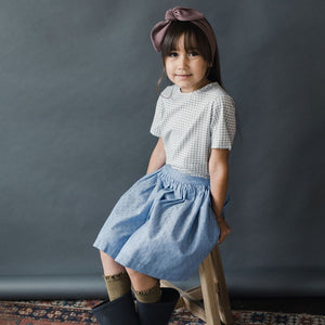 Chambray Dottie Skirt