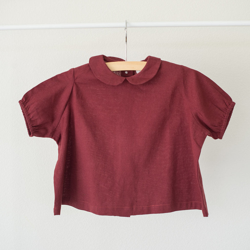 The Slouch-Apple Spice Blouse