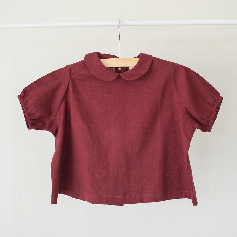 The Slouch-Apple Spice Blouse- Size 0-3months