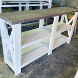 1.6 m Rustic Range Hall Table