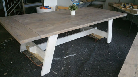 Dining Tables - various sizes, colour stains and styles.  Priced accordingly.