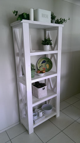 Rustic Kitchen Shelf or Bookshelf