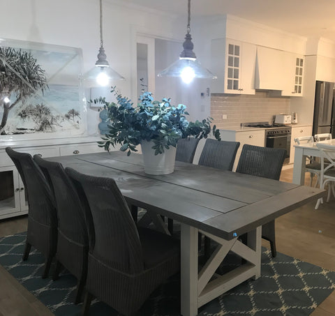 3 m Long Island Designer Dining Tables