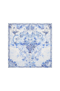 LARGE SQUARE SCARF HIGH TEA