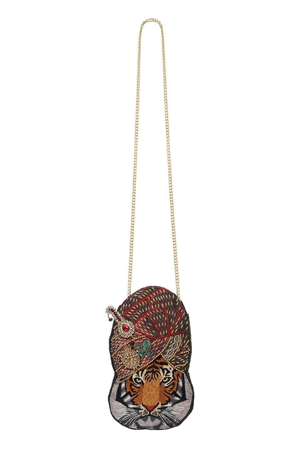 TIGER TURBAN BAG SOLID BLACK
