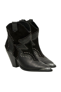 OUTBACK ANKLE BOOT SOLID BLACK