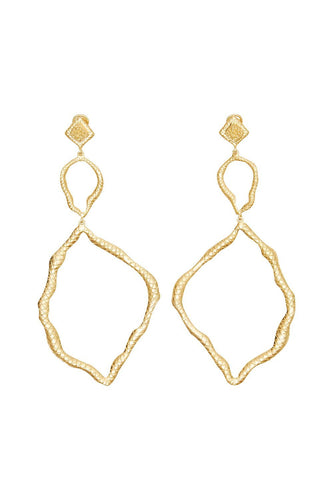 VALERE PYTHON EARRINGS MULTI