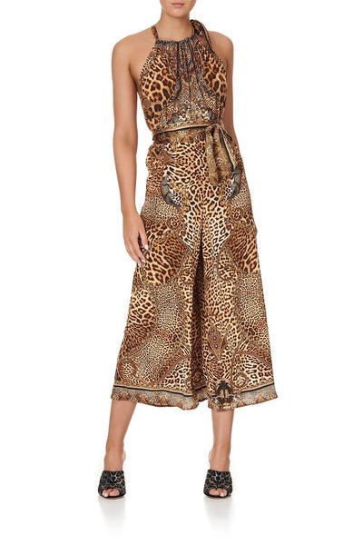 DRAWSTRING NECK JUMPSUIT LADY LODGE