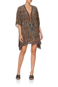 SHORT LACE UP KAFTAN POETIC ANARCHY