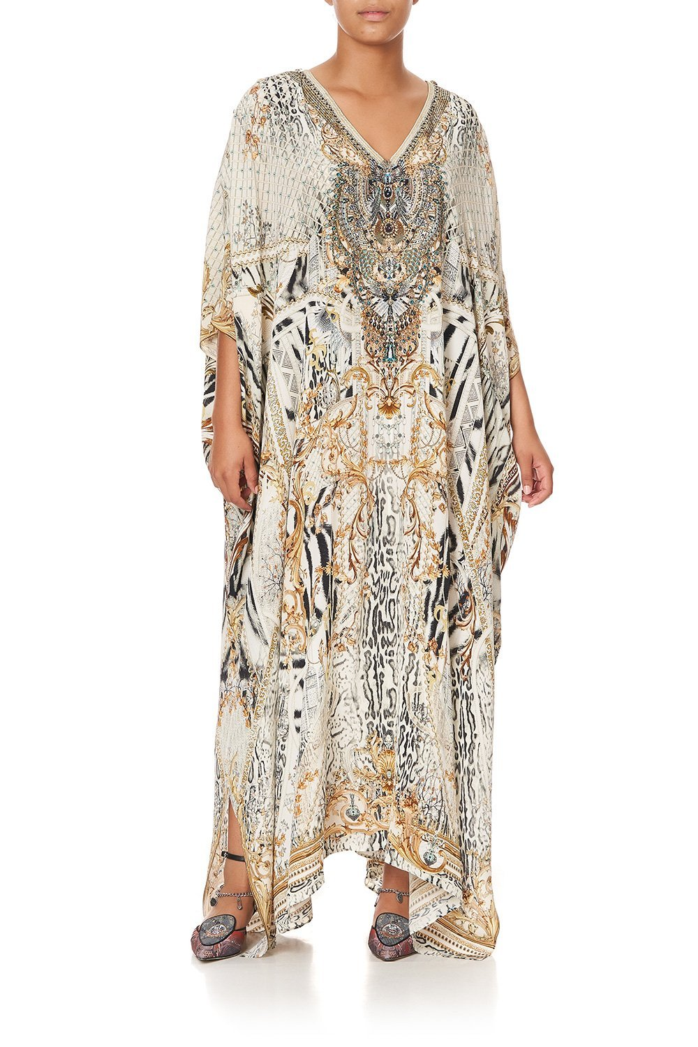 LONG KAFTAN WITH BUTTONS GATES OF GLORY