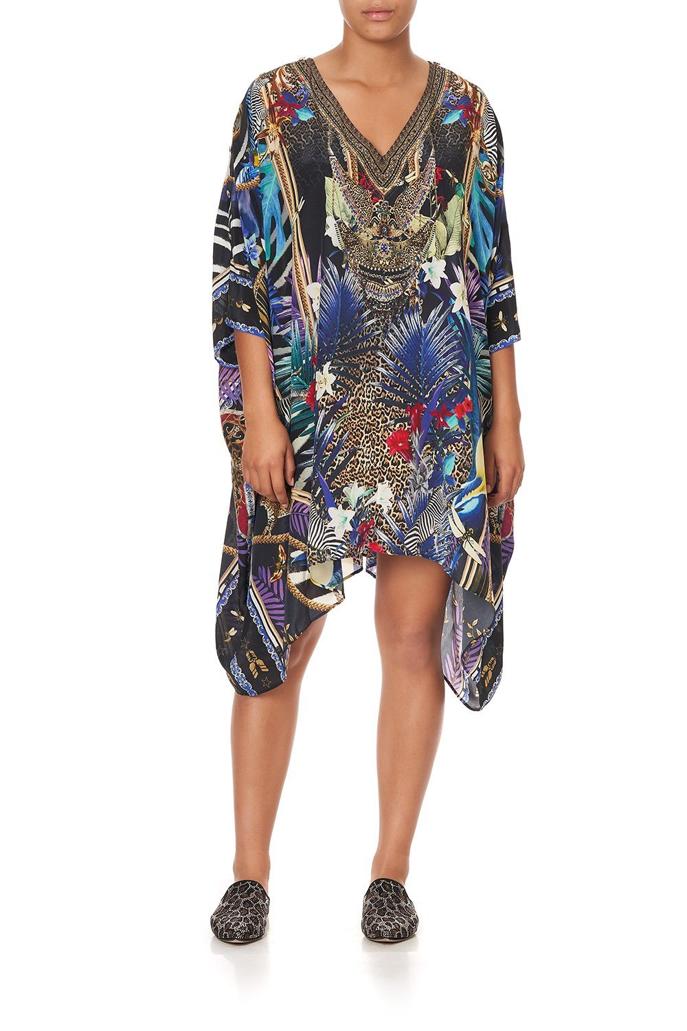 KAFTAN WITH BUTTON UP SLEEVES RAINBOW ROOM