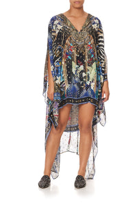 LONG SHEER OVERLAY DRESS RAINBOW ROOM
