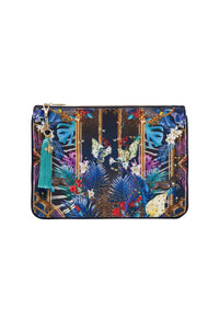 SMALL CANVAS CLUTCH RAINBOW ROOM