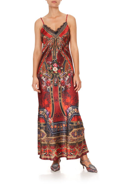 SLIP MAXI DRESS STORIES OF A STATION