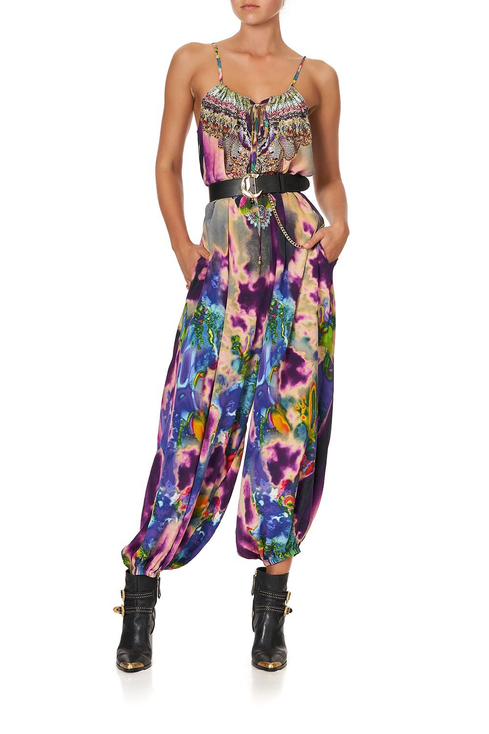 BALLOON JUMPSUIT ACID ABBEY