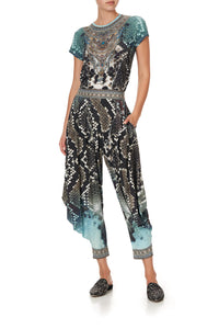 JERSEY DRAPE PANT WITH POCKET PREY