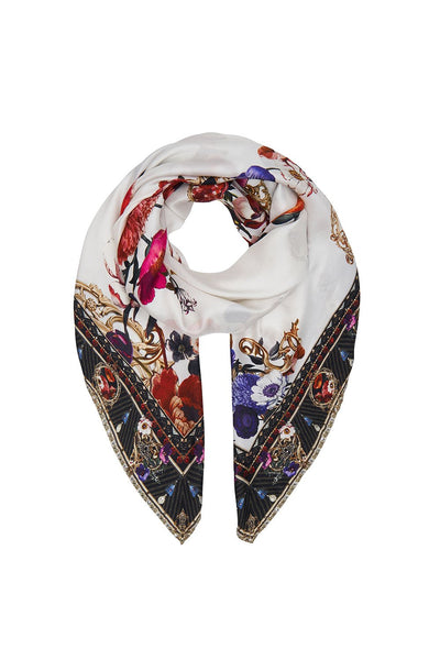 LARGE SQUARE SCARF FAIRY GODMOTHER