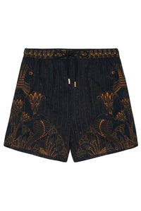 ELASTIC WAIST BOARDSHORT COBRA KING