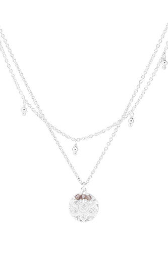 BY CHARLOTTE HARMONY NECKLACE SILVER PLATED