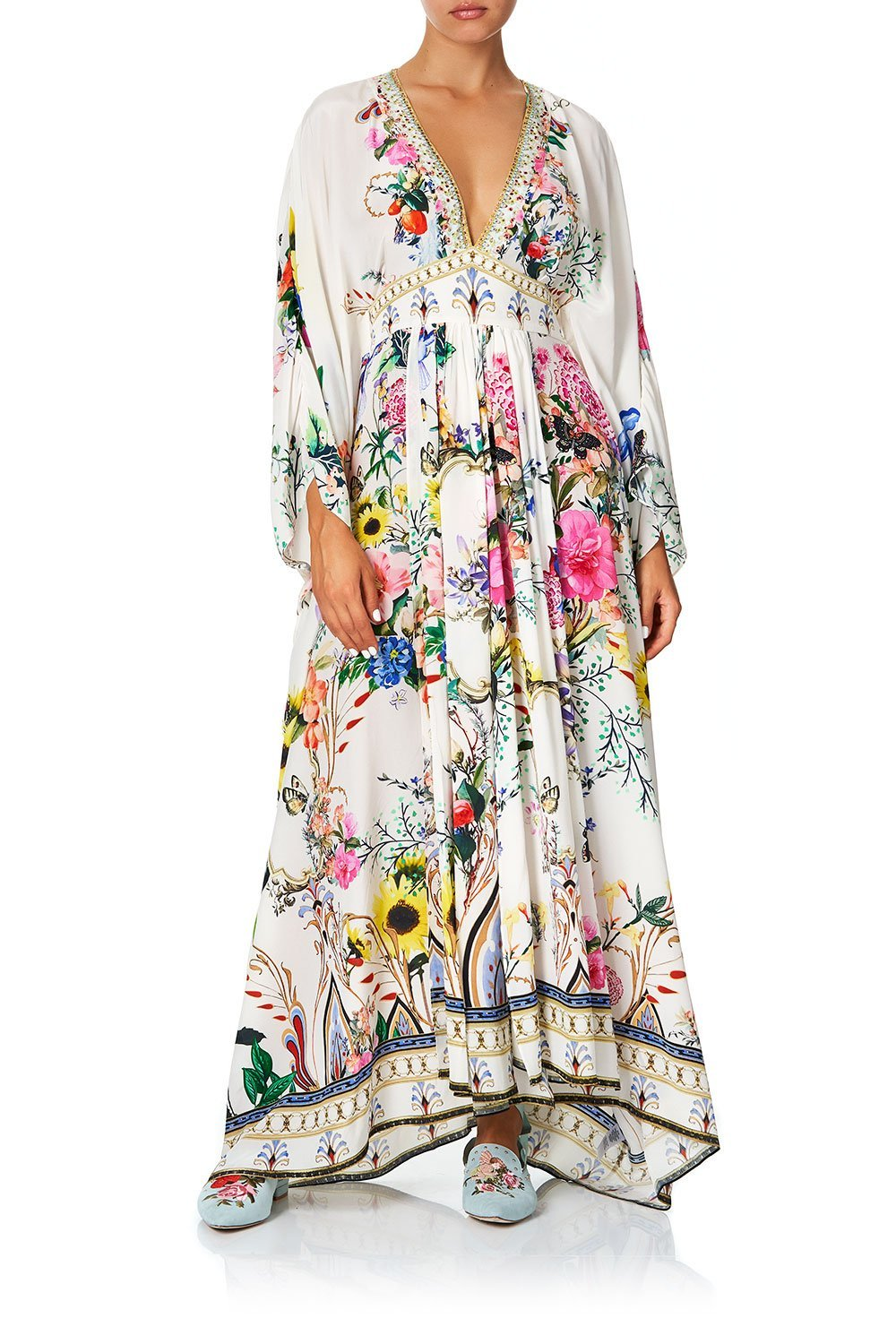 LONG KAFTAN WITH WAISTBAND BOHEME