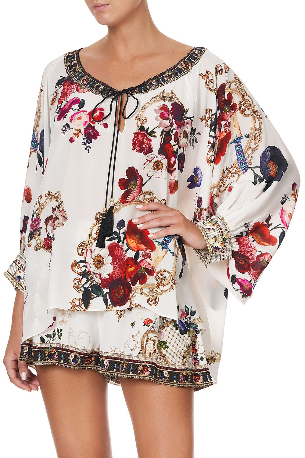 RAGLAN SLEEVE BLOUSE WITH CUFF FAIRY GODMOTHER