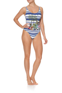 REVERSIBLE SCOOP ONE PIECE MOON GARDEN
